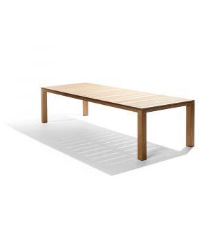 Jedálenský stôl Kos Teak 98/224/266/308cm