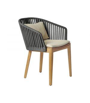 Záhradná stolička Mood, Wengé