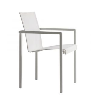 Natal Alu Dining chair White