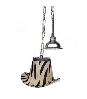 Závěsná lampa Zebra Hat