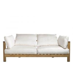 Pure sofa 200cm, casual cushions