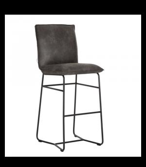 Barová židle Delaware, Anthracite