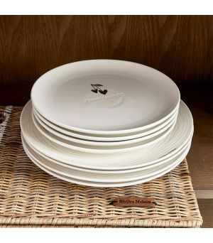 Talíř Food Lovers Breakfast Plate