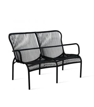 Loop sofa black